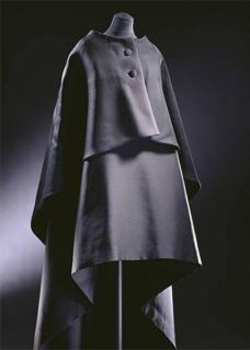 Evening gown and cape, Cristóbal Balenciaga, 1967, Paris, France. Musuem no. T.39&A-1974. © Victoria and Albert Museum, London