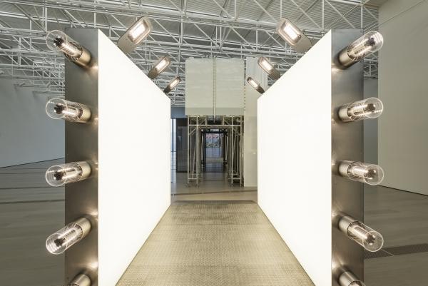 Light Corridor by Carsten Höller - Centro Botín Santander. Photo by Attilio Maranzano