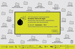 2DO ENCUENTRO INTERNACIONAL ARCHIVOS FUERA DE LUGAR