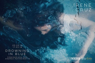 Irene Cruz. Drowning in blue