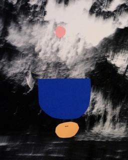 Alice Quaresma Dream Land 2017 Papel sobre impressão fotográfica 25 x 20 cm