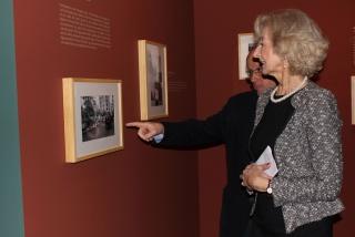 Inauguración de la exposición – Cortesía de Oficina de Comunicación de la Comunidad de Madrid