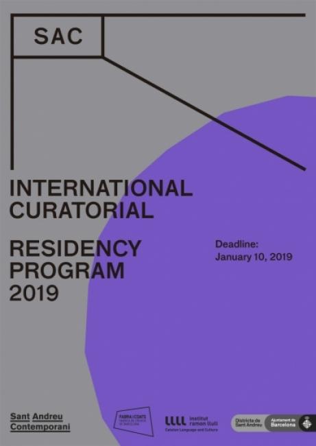 SAC Programa Internacional de Residencia Curatorial 2019