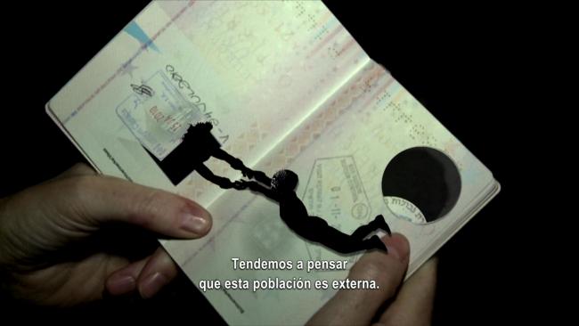 Oliver Ressler & Zanny Begg. The Right of Passage, 2013. Video, color, sound 19 ' — Cortesía de Àngels Barcelona