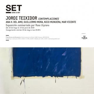 Jordi Teixidor. Contemplaciones: Ana H. del Amo, Guillermo Mora, Nico Munuera, Mar Vicente