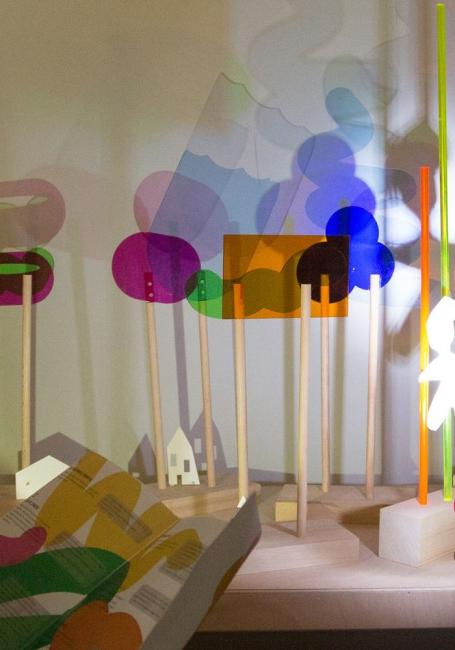 ©Hervé Véronèse.  Laterna Magica Centre Pompidou — Cortesía del Centre Pompidou Málaga