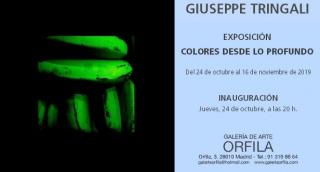 Giuseppe Tringali. Colores desde lo profundo