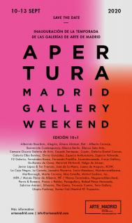 Apertura Madrid Gallery Weekend 2020