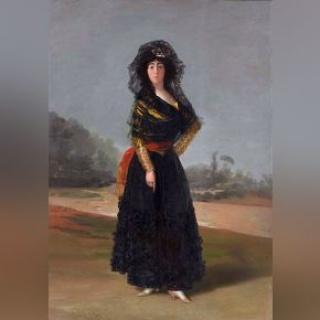 Francisco de Goya, La Duquesa de Alba — Cortesía del Museum of Fine Arts Houston (MFAH)