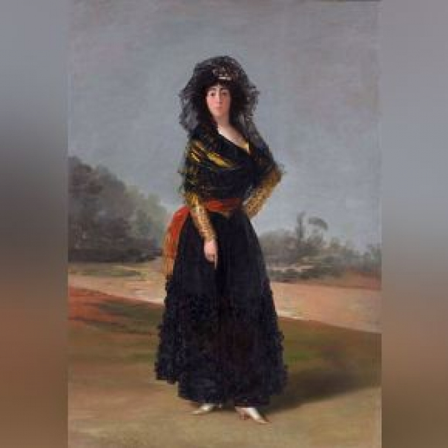 Francisco de Goya, La Duquesa de Alba — Cortesía del Museum of Fine Arts Houston (MFAH)