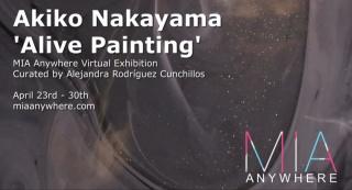 Akiko Nakayama 'Alive Painting'