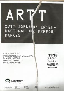 ARTT. XVII Jornada Internacional de Performances