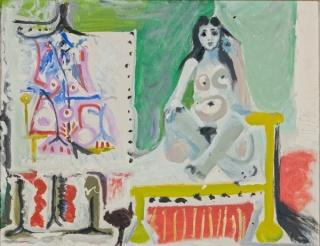 Pablo Picasso, La modelo en el taller