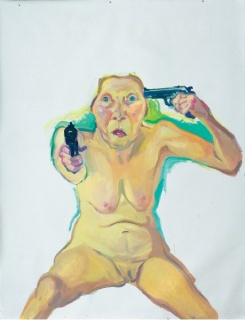 Maria Lassnig. Du oder Ich, 2005 © Private Collection. Courtesy Hauser & Wirth © Photo credit: Stefan Altenburger Photography Zürich