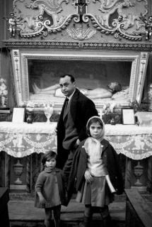 Ferdinando Scianna, Leonardo Sciascia, Rocalmuto, 1963