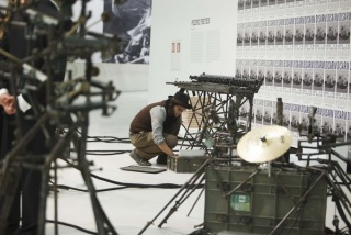 Roma, Museo MAXXI, mostra Transformers. Pedro Reyes, Disarm (Mechanized), 2013. Photo ©Musacchio & Ianniello