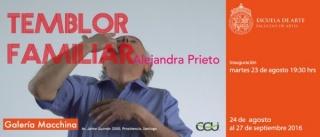 Alejandra Prieto, Temblor Familiar