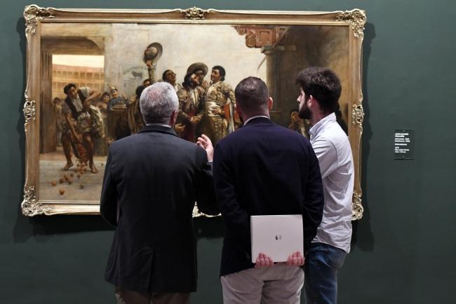 Vista de la exposición – Cortesía de la Fundación Unicaja