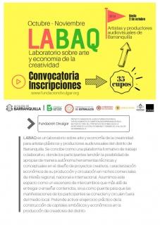 Laboratorio LABAQ sobre Arte y Economía. Imagen cortesía Fundación Divulgar