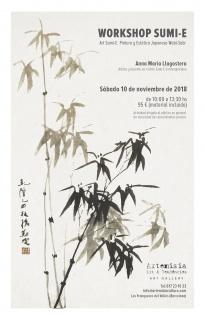 Workshop Art Sumi-E. Pintura y Estética Japonesa Wabi-Sabi