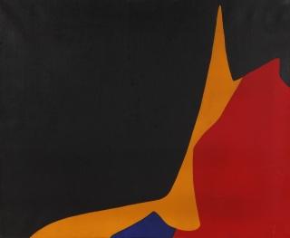 Composición, óleo sobre iienzo, Equipo 57, 1958 — Cortesía de la galería Guillermo de Osma