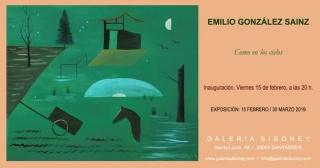 Emilio González Sainz. Como en los cielos — Cortesía de la Galería Siboney