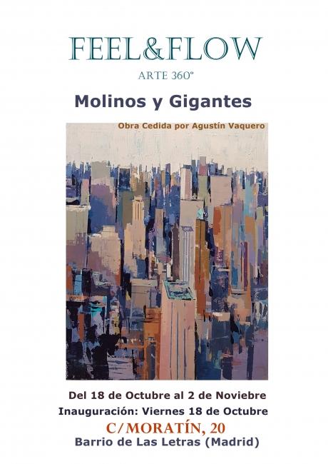 Cartel de la exposición Molinos y Gigantes 2019