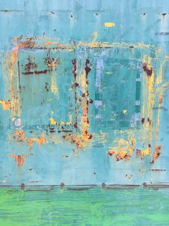 """Detalle de """"Minimal y Marginal Series. After Brice Marden"""" de Carlos Navarrete — Cortesía del Museo de Artes Visuales (MAVI)"""