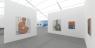 Installation rendering of UNTITLED, ART Online, powered by Artland, featuring paintings by Koak. © Koak, courtesy of Altman Siegel San Francisco
