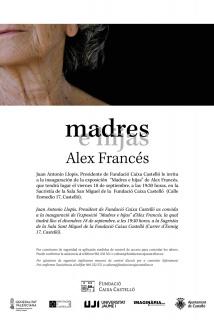 Álex Francés. Madres e hijas - Invitación