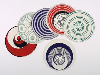 Marchel Duchamp. Optical disc, 1935. Colección del IVAM  — Cortesía del IVAM