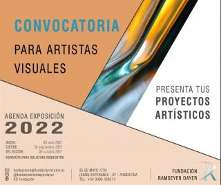 Convocatoria Artistas Visuales FRD