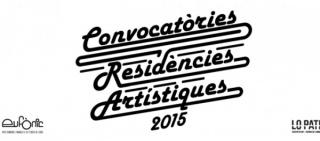 Convocatoria Residencia Artística Eufònic / Lo Pati 2015