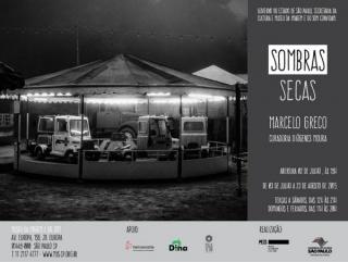 Convite - Sombras Secas, Marcelo Greco