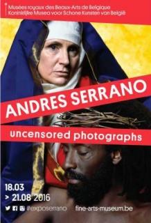 Andrés Serrano, Uncensored photographs