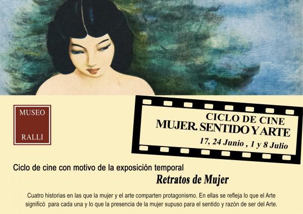 """Ciclo de cine \""""Mujer. Sentido y Arte\"""""""