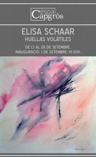Elisa Schaar, Huellas volátiles