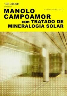 Manolo Campoamor, Tratado de mineralogía solar