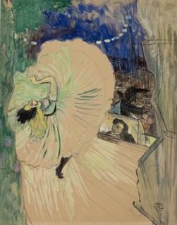 Henri de Toulouse-Lautrec, A roda, 1893, doação Geremia Lunardelli, 1952, acervo MASP