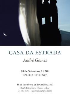 André Gomes. Casa da Estrada