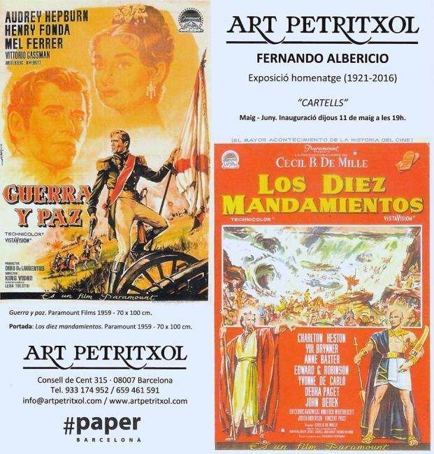 Fernando Albericio. Cartells