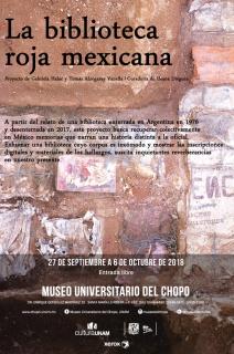 La biblioteca roja mexicana. Imagen cortesía Museo Universitario del Chopo