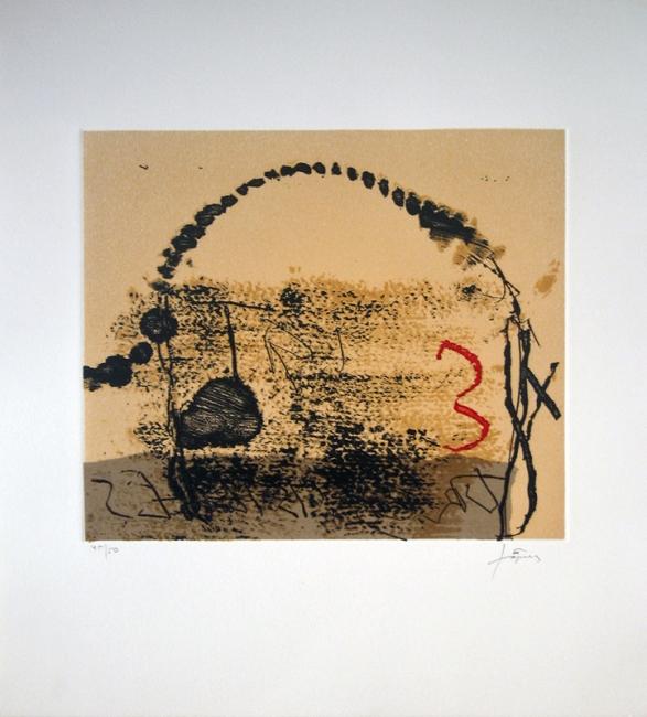 Antoni Tàpies 'Tres cistelles'