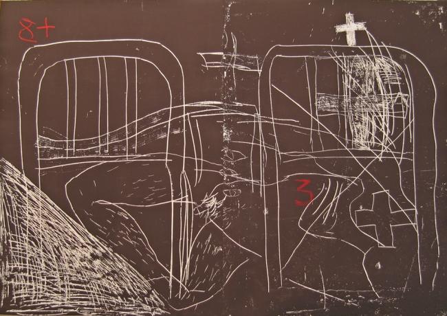 Antoni Tàpies. 'Llit'