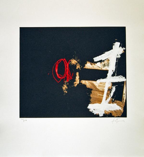 Antoni Tàpies. 'Signe blanc'