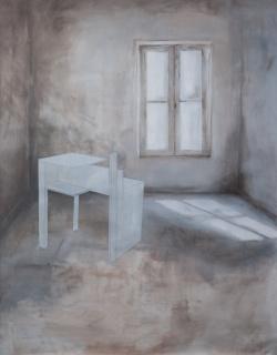 Estudio Colleta y mesa de Stijl de Eileen Gray