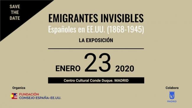 Emigrantes invisibles. Españoles en EE.UU. (1868-1945)