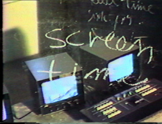 How Real is Your Screen?, 1983, Irit Bartsy, Super 8 with sound, 2', (Still of the video) — Cortesía de UMA LULIK__ Contemporary Art