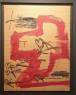 Antoni Tàpies, oli, 80 x 61 cm. — Cortesía de David Cervelló Galería de arte