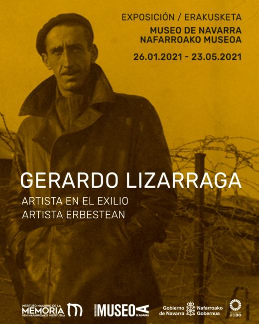 Gerardo Lizarraga. Artista en el exilio, Exposición, ene 2021 |  ARTEINFORMADO